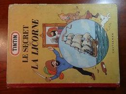 TINTIN : LE SECRET DE LA LICORNE : Edit. Orig. 01/1952 - Hergé