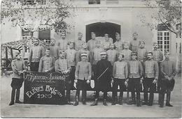 CPA Photographie Photo élèves Brigadiers 1909 1er Premier Régiment De Hussards - Régiments