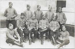 CPA Photographie Photo Vers 1910 1er Premier Régiment De Hussards - Régiments