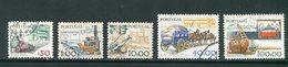 PORTUGAL- Y&T N°1408 à 1412- Oblitérés - 1910-... République