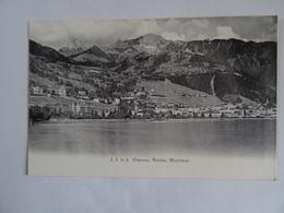 CPA SUISSE Clarens, Vernex, Montreux Dos Simple  TBE - VD Vaud