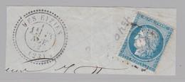 N° 60 T.P. Ob GC 4540 + T 24 Les Eyzies  ( Dept 23 Dordogne ) - Marcophily (detached Stamps)