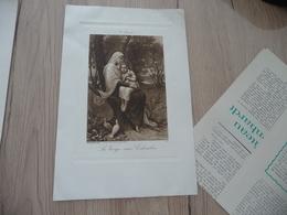 Calendrier Pub Publicité Bouasse Paris Religion 16.5 Cm X 25 Environs 1911 - Grand Format : 1901-20