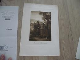 Calendrier Pub Publicité Bouasse Paris Religion 16.5 Cm X 25 Environs 1910 - Grand Format : 1901-20