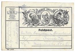 Feldpostkarte  - Empire D'Autriche-Hongrie   - WWI - Guerre 1914-18