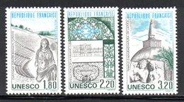 UNESCO - 1985 - YT 88 à 90 NEUF** COTE 4.35 € - UNESCO