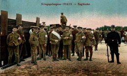 KRIEGSGEFANGENE ENGLANDER 1914 /1915   WWI WWICOLLECTION - Guerre 1914-18