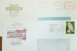 Italy, Wines - Meter Cancel - Mercury - Berlucchi - Fabbriche E Imprese