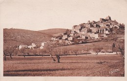 SIMIANE: (04) Vue Prise De La Route De Banon - Francia