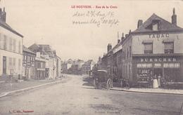 (02) - Le Nouvion Rue De La Croix  Carte Allemande 1° Guerre - Frankreich