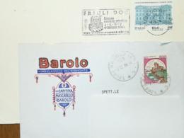Italy, Wines - Cancel - Barolo - Friuli - Fabbriche E Imprese