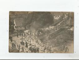 KIRRBERG (ALLEMAGNE)  CARTE PHOTO DE LA FETE DIEU EN 1919 (ENFANTS ET MILITAIRES) - Deutschland
