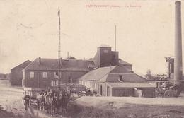 (02) - MONTCORNET Sucrerie Carte Allemande 1° Guerre - Frankreich