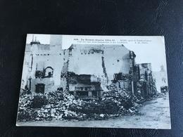 508 - La Grande Guerre 1914-15 REIMS Apres Le Bombardement. Coin Des Rues Saint Symphorien Et Des Cordeliers - 1915 - Guerre 1914-18