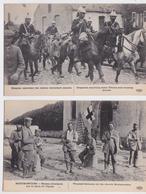 Grande Guerre 1914 Editeur ELD Lot De 10 Cpa Blessés Allemands Neufmontiers Tirailleur Marocain Uhlan Dragon Aniche... - Guerre 1914-18