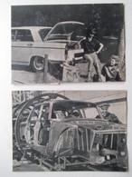 Voiture Nouvelle Peugeot 404   - 2 Coupures De Presse De 1960 - Voitures