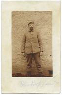 Soldat Allemand  - WWI  - Au Dos, Cachet Du Lazarett De Gebweiler (Alsace) - Guerre 1914-18