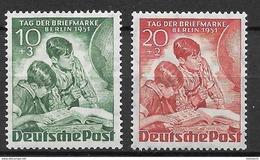 Berlin 1951 Complete Set - [5] Berlino