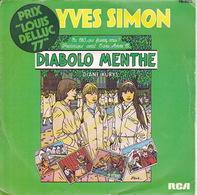 YVES SIMON - SP - 45T - Disque Vinyle - BOF Musique De Film Diabolo Menthe - 8153 - Discos De Vinilo