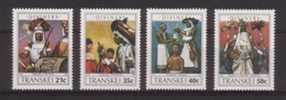 SERIE NEUVE DU TRANSKEI - DEVINS ET SORCIERS N° Y&T 254 A 257 - Cultures