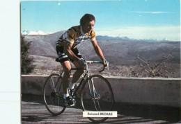 Bernard BECAAS .  2 Scans. Cyclisme. Renault Gitane 1979 - Cycling