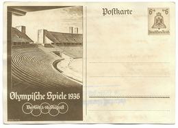 Berlin  - JO 1936  - Entier Postal - Guerre 1939-45