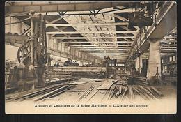 Cpa 7620920 Ateliers Et Chantiers De La Seine Maritime L'atelier Des Coques (le Havre) Timbre Tuberculose - Le Havre