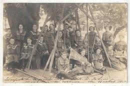 MARSHALL, MO, Missouri - Carte Photo - Les Enfants De La Grande Classe De N.-D. De Sion En Costume De Basket Ball - 1912 - United States