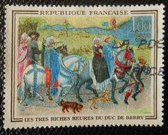 1457 France 1965 Oblitéré  Les Très Riches Heures Du Duc De Berry - France