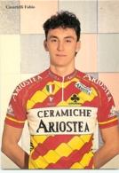 Fabio CASARTELLI .  2 Scans. Cyclisme. Ariostea 1993 - Cycling