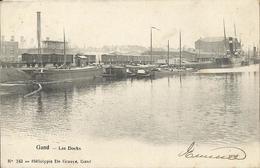 Gent - Gand - Les Docks (Héliotypie De Graeve Nr 243) - Gent