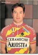 Pascal RICHARD .  2 Scans. Cyclisme. Ariostea 1993 - Wielrennen