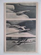 Automobile Américaine - Mascotte Nouveau Thème Aviation  (US Car Motor Mascot Aircraft)  -  Coupure  De Presse De 1956 - Voitures