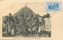 FOULADOU - SENEGAL - FEMMES PEULS SEINS NUS à KAMBOA - Sénégal