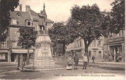 FR25 MONTBELIARD - Statue Denfer Rochereau - Animée - Belle - Montbéliard
