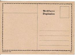 Czechoslovakia  Dopisnice Postcarte, Meridian 024, Mint - Czechoslovakia