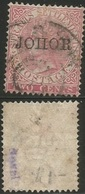 Straits Settlements Malaysia Singapore - Study Lot In 3 Scans + Scarce Variety Johore !!! - Singapore (1959-...)
