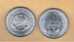 LAOS -  10 Att 1980  SC  KM22 - Laos