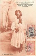 MAURITANIE -MARABOUT DES OULEDS BIRI TRARZAS - AHMED SALOUM OULD  - PHOTOGRAPHE; P. TACHER  N° 274 - CPA ETHNIQUE - Mauritanie