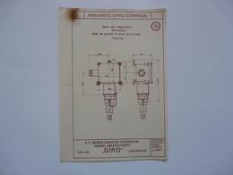 VIEUX PAPIERS - PLANCHE R1 : ANSCHÜTZ - GYRO-COMPASS - Compas Gyroscopique - Sous-marin - Machines
