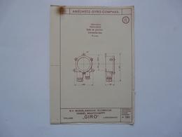 VIEUX PAPIERS - PLANCHE R : ANSCHÜTZ - GYRO-COMPASS - Compas Gyroscopique - Sous-marin - Macchine