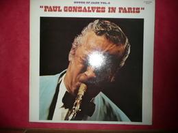 LP33 N°3080 - PAUL GONSALVES IN PARIS - XBLY 80 703 - Jazz