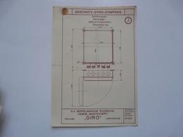 VIEUX PAPIERS - PLANCHE J : ANSCHÜTZ - GYRO-COMPASS - Compas Gyroscopique - Sous-marin - Máquinas