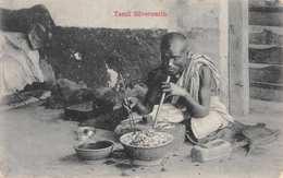 CEYLON (SRI LANKA) - TAMIL SILVERSMITH - POSTED IN 1913 ~ AN OLD POSTCARD #22437 - Sri Lanka (Ceylon)