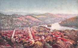 CEYLON (SRI LANKA) - GENERAL VIEW OF KANDY - POSTED IN 1915 ~ AN OLD POSTCARD #22440 - Sri Lanka (Ceylon)