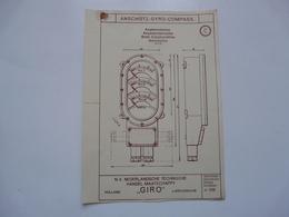 VIEUX PAPIERS - PLANCHE C : ANSCHÜTZ - GYRO-COMPASS - Compas Gyroscopique - Sous-marin - Macchine