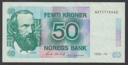 NORVEGIA 1990  50 KRONER  QFDS - Norvegia