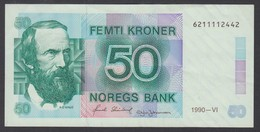 NORVEGIA 1990  50 KRONER  QFDS - Norway