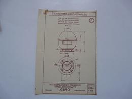 VIEUX PAPIERS - PLANCHE K : ANSCHÜTZ - GYRO-COMPASS - Compas Gyroscopique - Sous-marin - Máquinas
