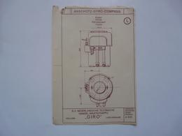 VIEUX PAPIERS - PLANCHE L : ANSCHÜTZ - GYRO-COMPASS - Compas Gyroscopique - Sous-marin - Maschinen